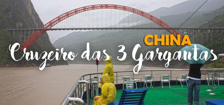 CRUZEIRO NO YANGTZÉ - Três dias a bordo do CRUZEIRO DAS TRÊS GARGANTAS | China