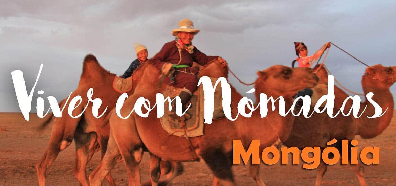 VIAJAR NA MONGÓLIA | Viver com famílias nómadas na Mongólia