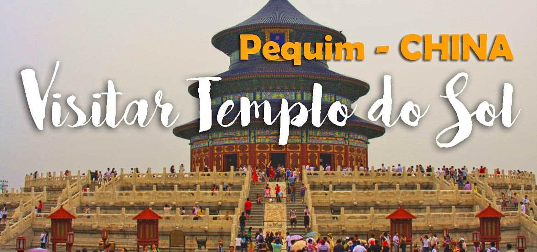 Visitar o magnífico e deslumbrante TEMPLO DO CÉU em Pequim | China