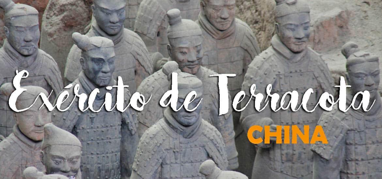 Visitar o EXÉRCITO DE TERRACOTA desde Xian | China