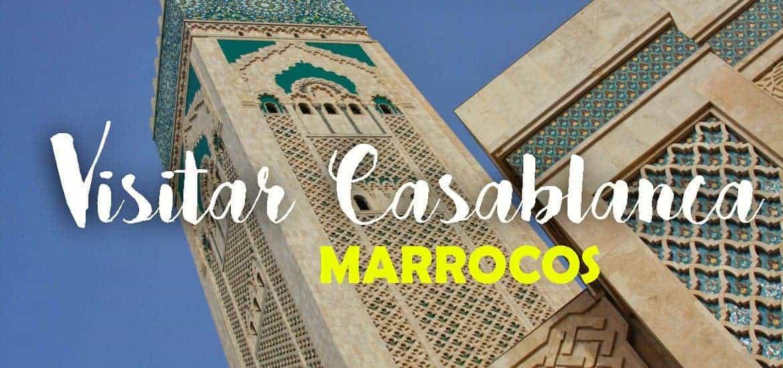 CASABLANCA - MARROCOS   Visitar a bela mesquita marroquina