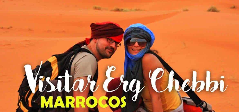 ERG CHEBBI - MARROCOS | As dunas do deserto do Sahara em Merzouga