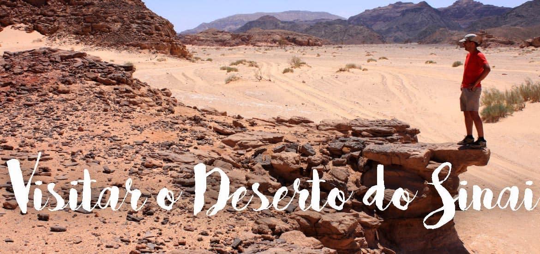 Explorando o deserto, canhões e PENÍNSULA DO SINAI | Egipto