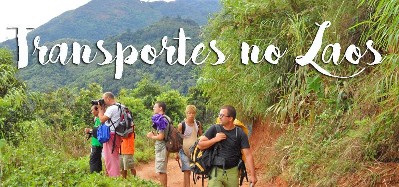 Nas ESTRADAS DO LAOS | Aventuras e desventuras de dois viajantes independentes nos transportes do Laos