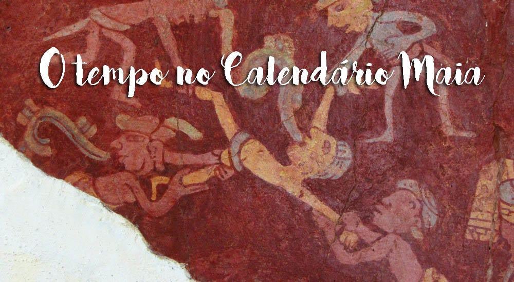 Os dias e meses do CALENDÁRIO MAIA - representação e significado