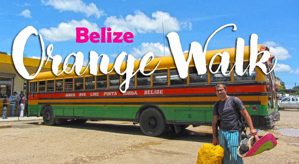Visitar ORANGE WALK, a nossa primeira paragem na viagem no Belize