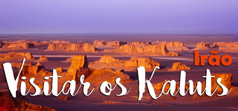 Visitar os KALUTS, os castelos de areia próximos de Kerman | Irão