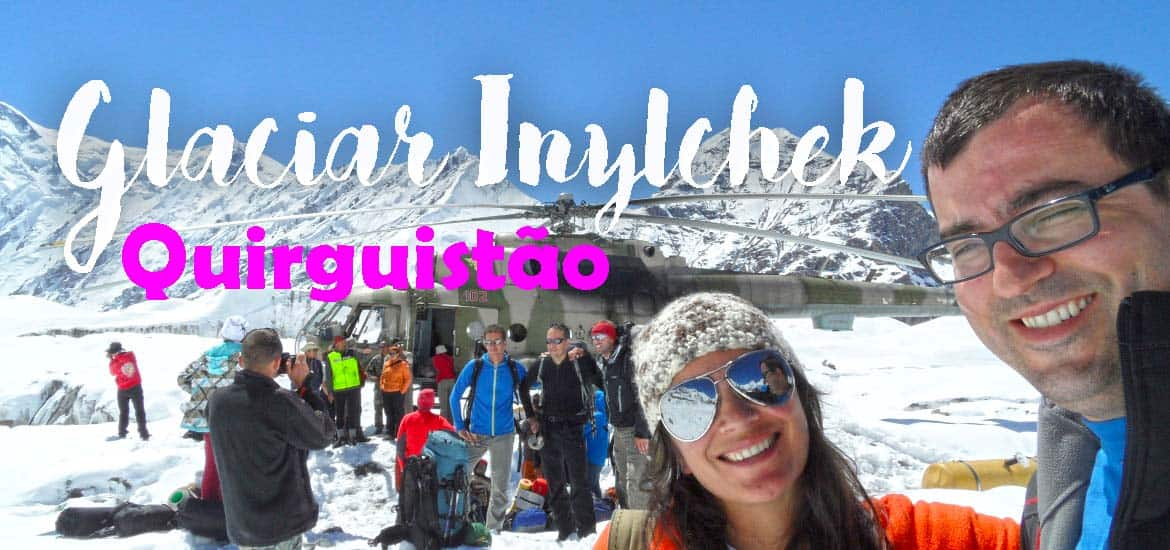 "Visitar o GLACIAR INYLCHEK - ""Roads? Where we're going we don't need . . . roads"" 