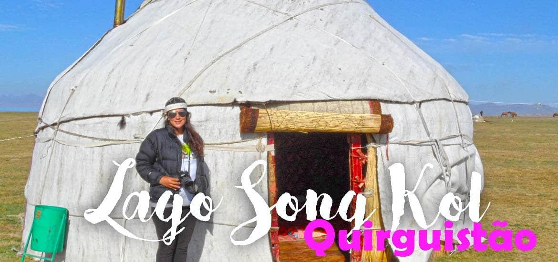 Visitar o LAGO SONG KOL - Nómadas por um dia nas margens do lago | Quirguistão