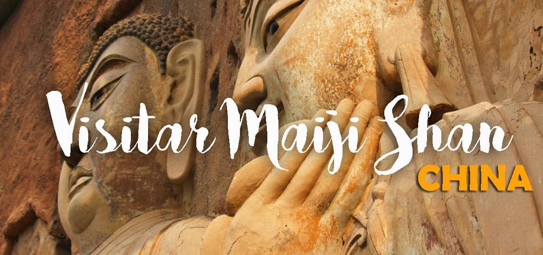 Visitar MAIJI SHAN, a montanha sagrada e o budismo nas alturas | China