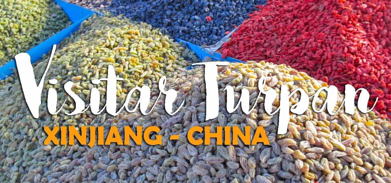 Visitar TURPAN (ou Turfan), um oásis de Xianjiang no deserto de Taklamakan | China