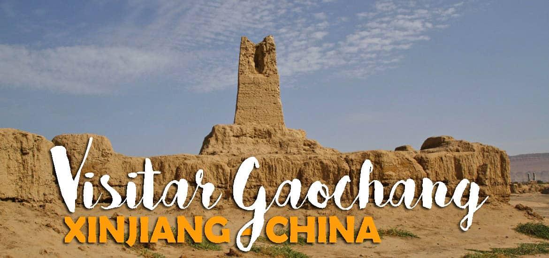 Visitar GAOCHANG - Em busca das cidades perdidas do deserto na Rota da Seda | China