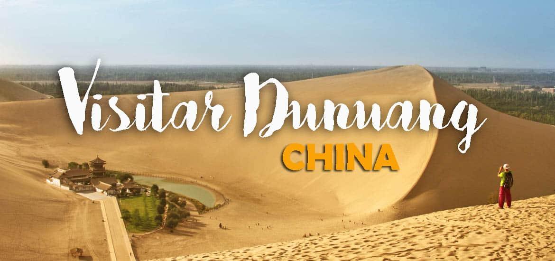 Visitar DUNHUANG - Dizem que as dunas cantam no deserto de Taklamakan | China