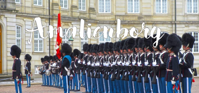 Visitar o Palácio de AMALIENBORG, os soldadinhos de chumbo de Copenhaga | Dinamarca
