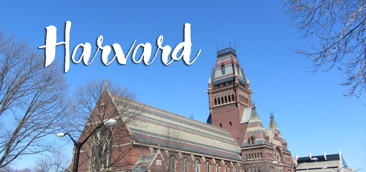 Universidade de HARVARD e Massachusetts Institute of Technology (M.I.T.) em Boston | EUA