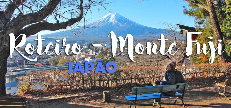 Visitar o MONTE FUJI - Plano de viagem para explorar o Monte Fuji num dia | Japão