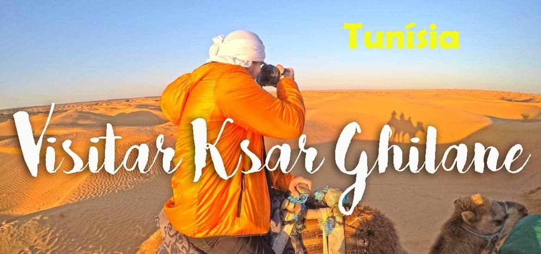Visitar KSAR GHILANE e descobrir os encantos do magnífico deserto (com dormida num campo no deserto) | Tunísia