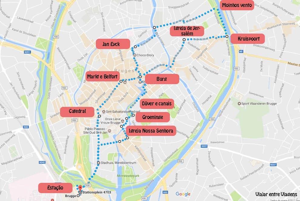 ROTEIRO para um dia em BRUGES (ou BRUGGES) (desde Bruxelas) | BÉLGICA