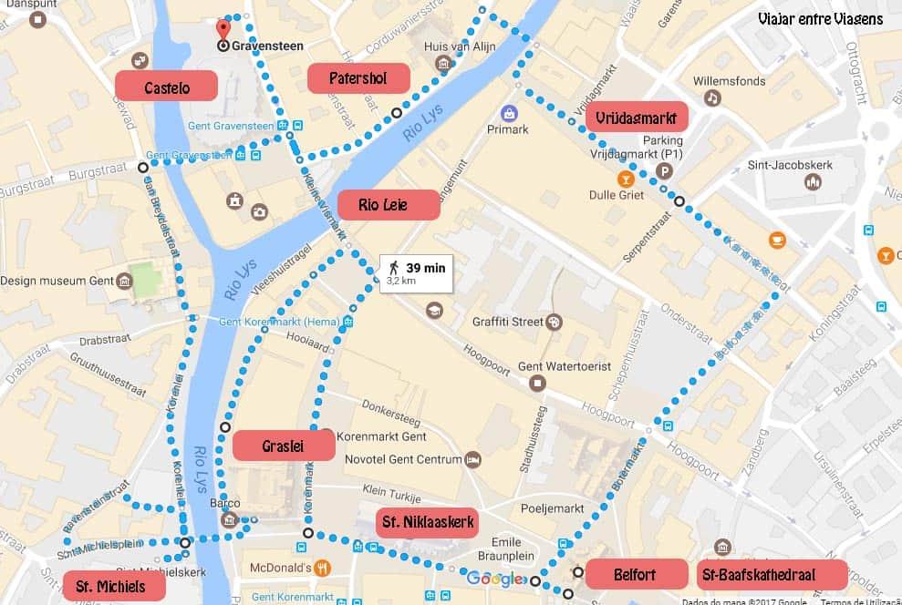 ROTEIRO para um dia em GANTE (GENT) (desde Bruxelas) | BÉLGICA roteiro gante bélgica