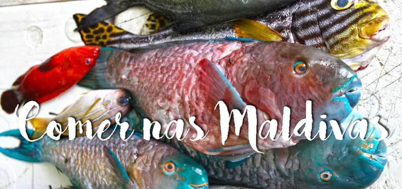 COMER NAS MALDIVAS, a gastronomia e os melhores restaurantes