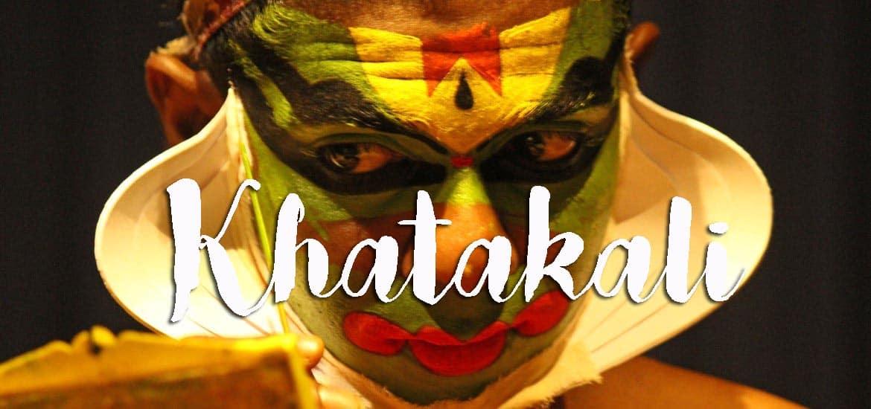 KATHAKALI, o retrato cultural de Querala   Índia