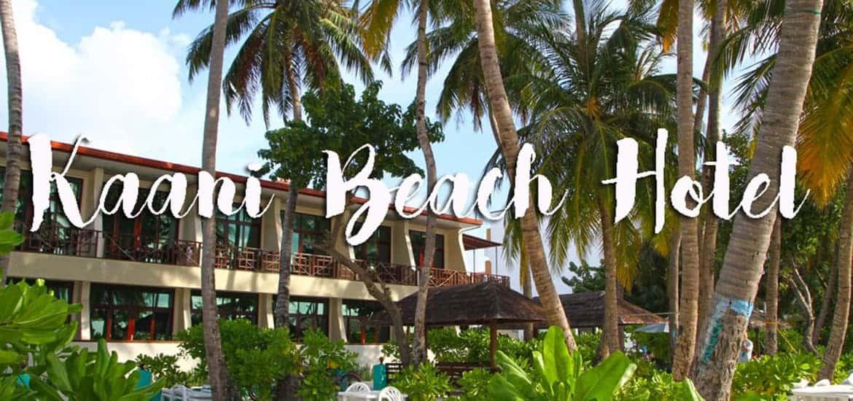KAANI BEACH HOTEL, ideal para se alojar em Maafushi nas Maldivas