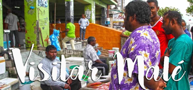 MALÉ - Visitar a capital das Maldivas, um país com 1200 ilhas