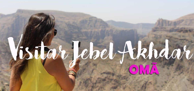 Visitar Birkat Al Mauz e as paisagens deslumbrantes das montanhas de JEBEL AKHDAR | Omã