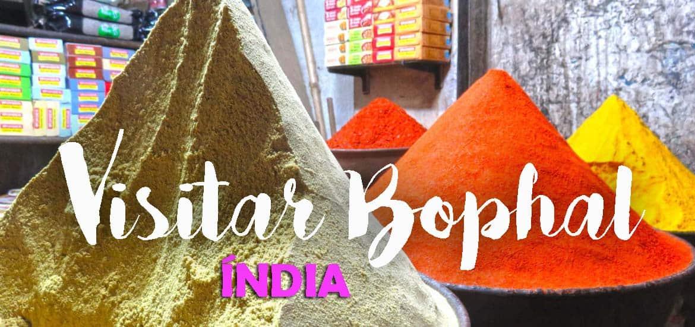 Visitar BHOPAL e as memórias da Rota das Especiarias | Índia