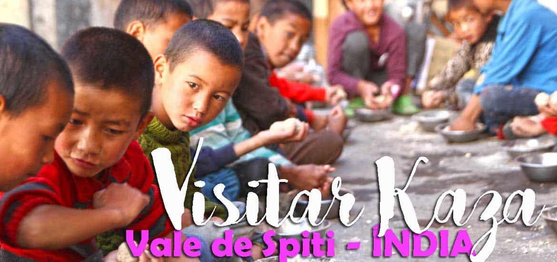 Visitar KAZA - Explorando o mosteiro de Key e aldeias tibetanas próximo de Kaza | Índia