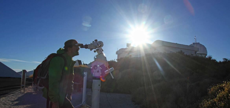 OBSERVATÓRIO ASTRONÓMICO DO TEIDE - As estrelas em Tenerife