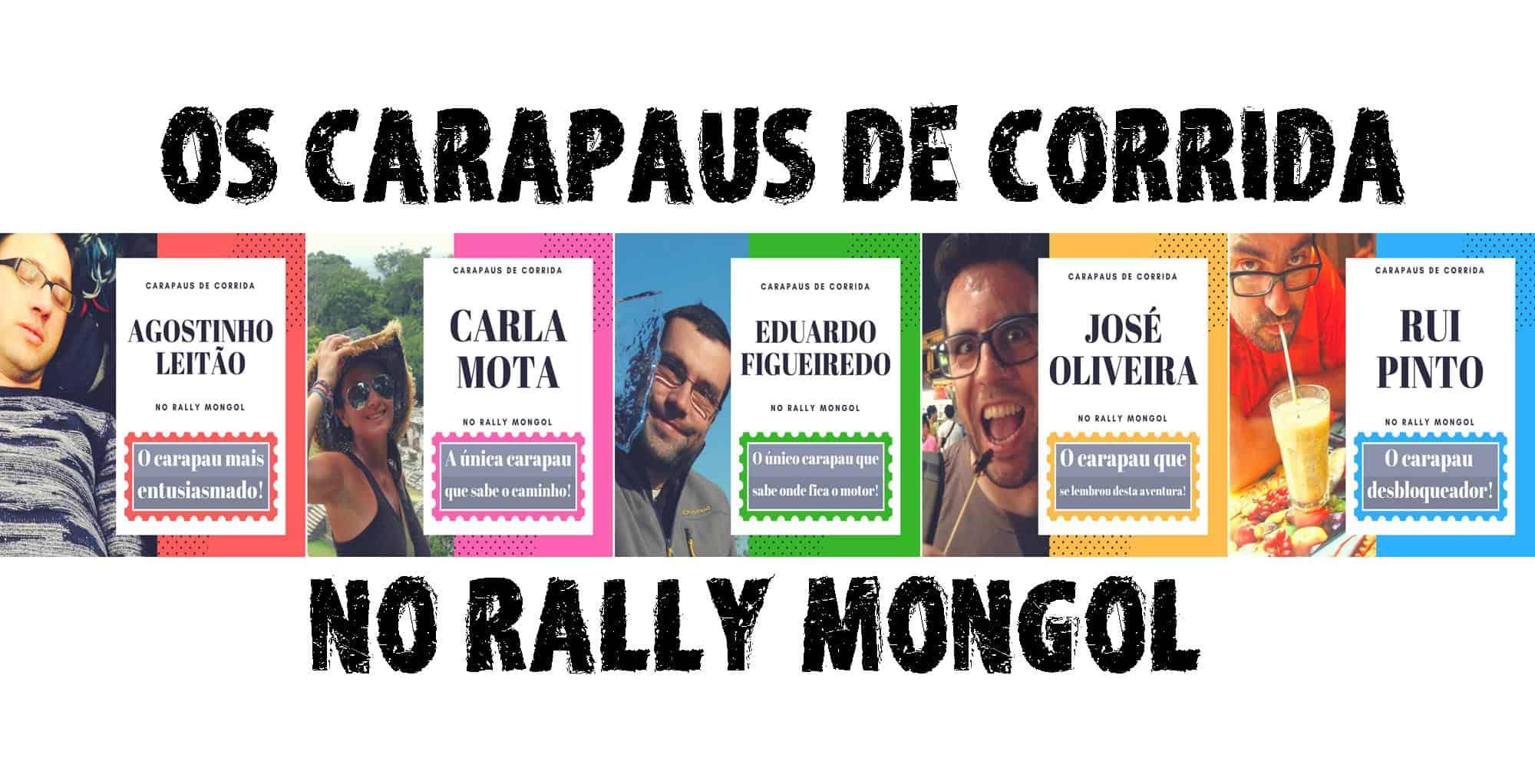 Os CARAPAUS DE CORRIDA | Este ano o Viajar entre Viagens vai fazer o Rally Mongol
