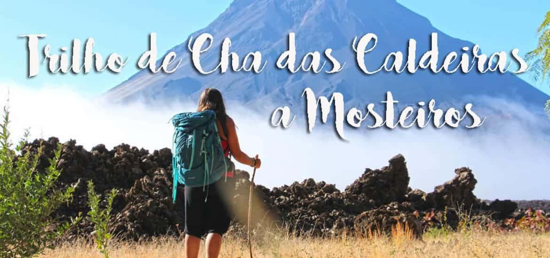 CHÃ DAS CALDEIRAS, trilho até Mosteiros na ilha do Fogo, Cabo Verde
