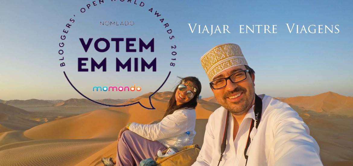 Momondo Open World Awards | Vamos eleger o Viajar entre Viagens o blogue do ano