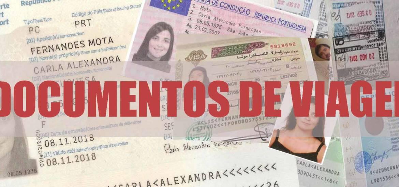 DOCUMENTOS DE VIAGEM | Que documentos levar para viagem e como os organizar