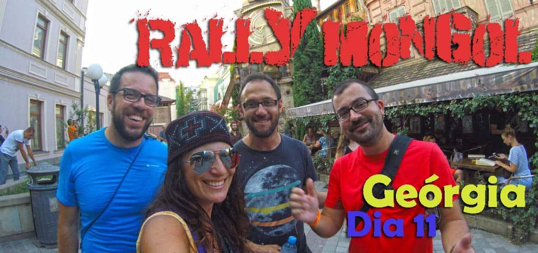 Dia 11 - Cruzando a Geórgia 🇬🇪 a caminho de TBILISI | Crónicas do Rally Mongol
