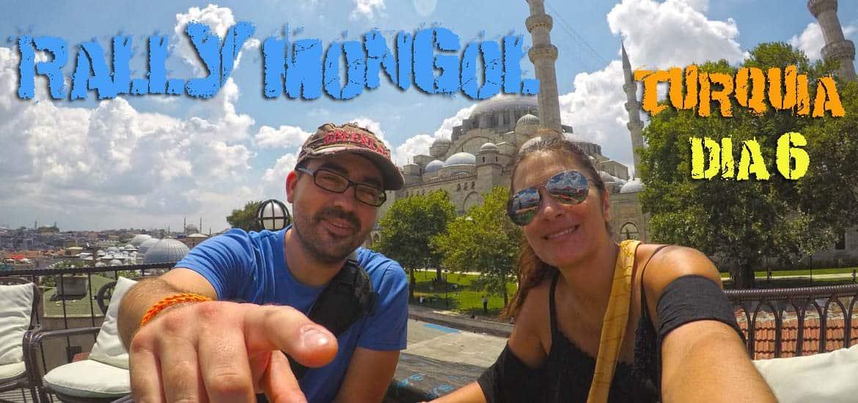 Dia 6 - Começou a corrida 🏁 ! Mas ainda estamos em Istambul | Crónicas do Rally Mongol