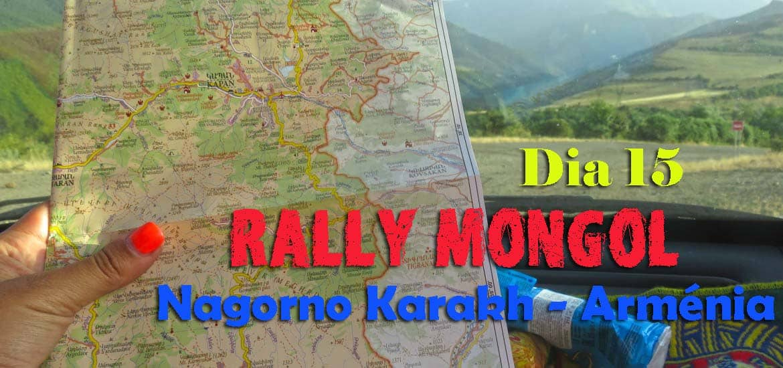 Dia 15 - Vamos ficar sem gasolina e perdidos nas montanhas? De NAGORNO KARABAKH a TATEV e MEGHRI | Crónicas do Rally Mongol