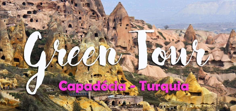 Valerá a pena fazer o GREEN TOUR na Capadócia? | Turquia