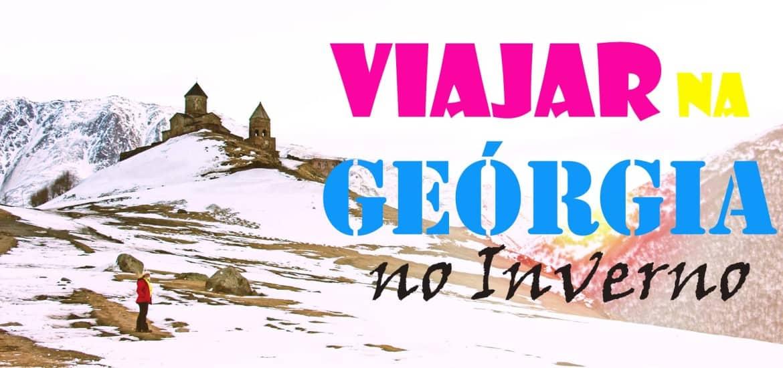 Dicas para VIAJAR NA GEÓRGIA no Inverno e lugares obrigatórios a visitar | Geórgia