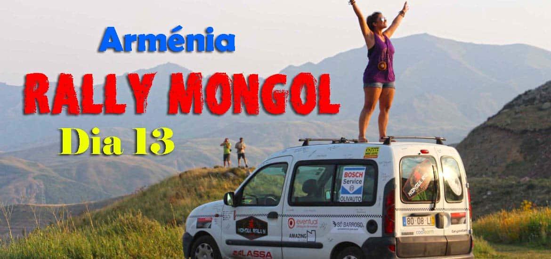 Dia 13 - Explorando a Arménia, de ASHTARAK ao LAGO SEVAN, passando por YEREVAN 🇦🇲 | Crónicas do Rally Mongol