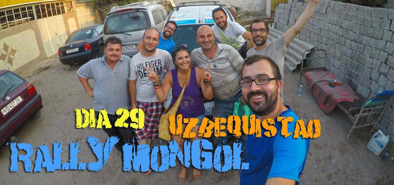 Dia 29 – Em SAMARCANDA, a Burra volta a andar 🇺🇿 | Crónicas do Rally Mongol