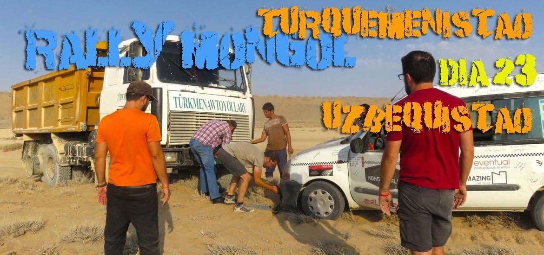Dia 23 – Será que a burra nos vai deixar mal? Em direcção ao MAR ARAL, no Uzbequistão 🇺🇿 | Crónicas do Rally Mongol