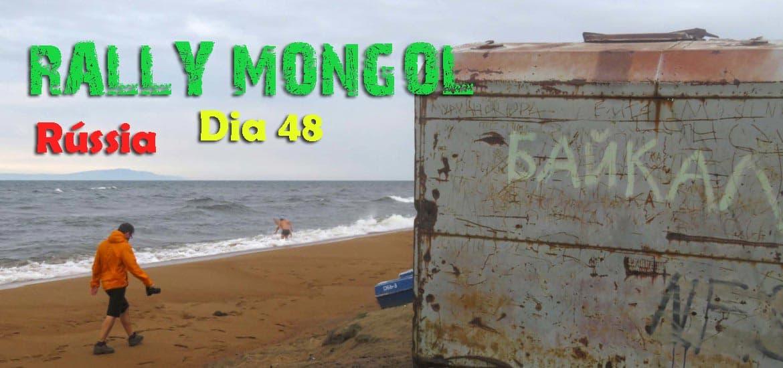 Dia 48 – O último passeio da Burra ao LAGO BAIKAL, na Rússia 🇷🇺 | Crónicas do Rally Mongol