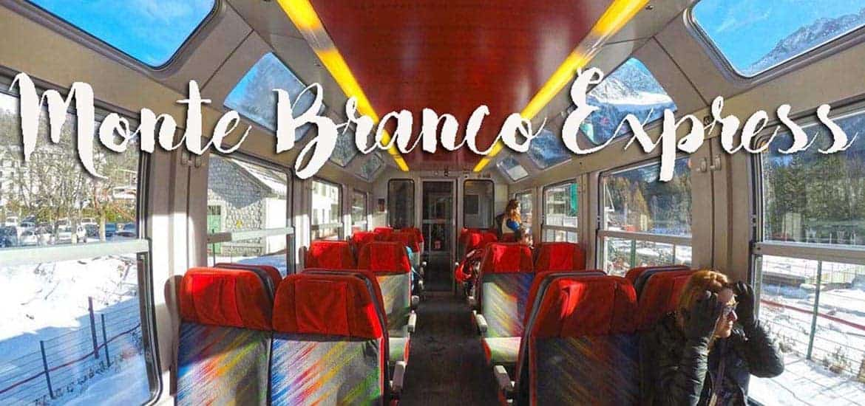 EXPRESSO DO MONTE BRANCO, de comboio nos Alpes franceses