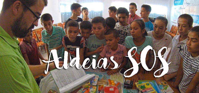 ALDEIAS SOS - A magia e alegria que 338 pessoas nos ajudaram a espalhar pelo mundo | RALLY MONGOL