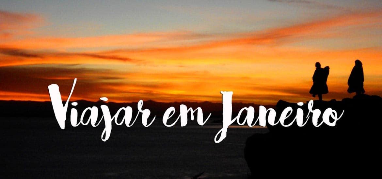 VIAJAR EM JANEIRO | TOP 10 Lugares para visitar no mês de Janeiro