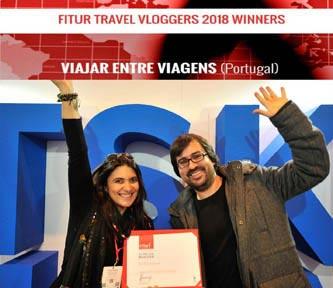 Vencedores da Fitur 2018 - Vlog com melhor conteúdo na promoção do Turismo Sustentável