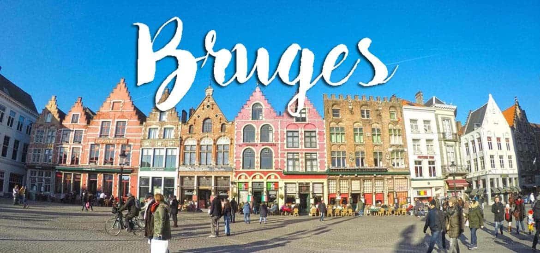 BRUGES (BRUGGES) - Roteiro para visitar num dia desde Bruxelas
