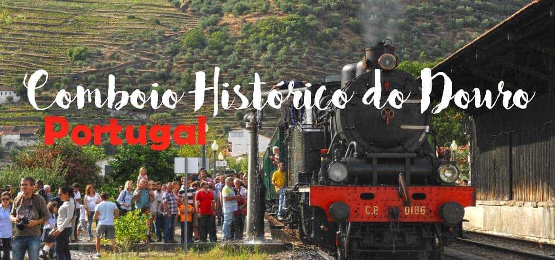 Comboio Histórico do Douro, da Régua ao Tua na linha do Douro